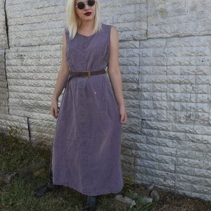 Muted Purple Sleeveless Dress
